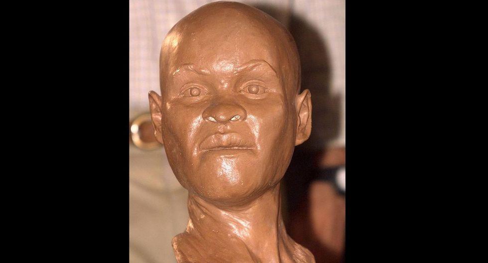 El cráneo de 'Luzia' es uno de los esqueletos más antiguos jamás encontrado en América, de unos 11,500 años de antigüedad. (AFP)