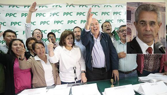 Fernando Andrade percibe arrogancia en el PPC. (César Fajardo)