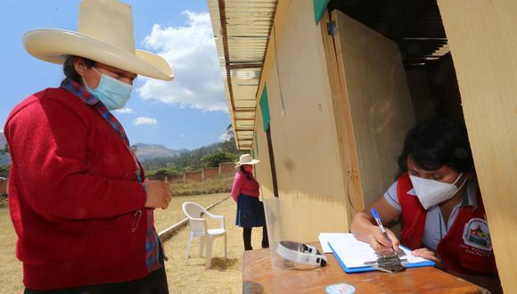 Realizaron tamizajes por el COVID-19 a pobladores de La Asunción (Foto: Gore Cajamarca).