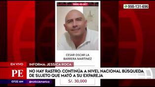 Continúa a nivel nacional la búsqueda de sujeto que asesinó a su expareja e hija
