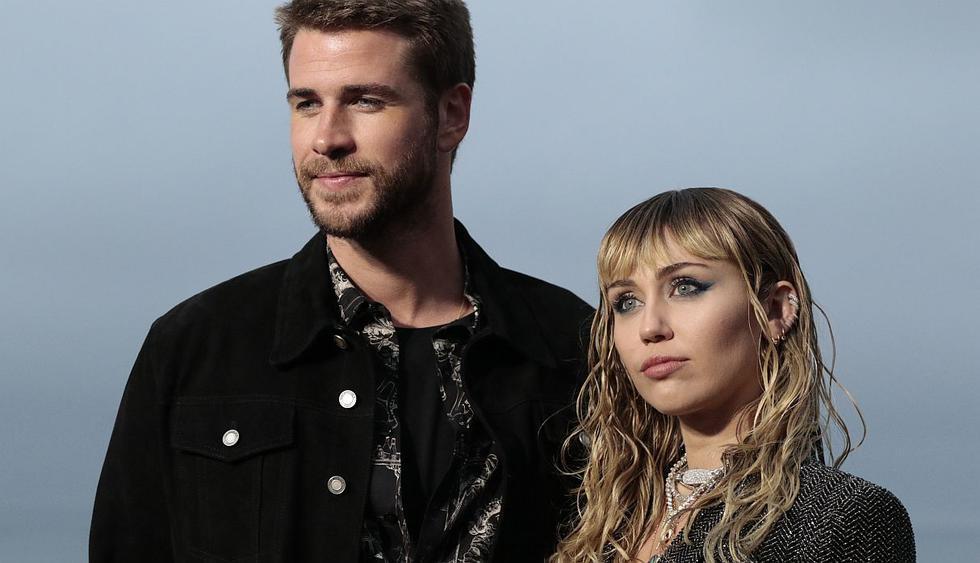Miley Cyrus y Liam Hemsworth decidieron separarse luego de 8 meses de haberse casado. (Foto: AFP)