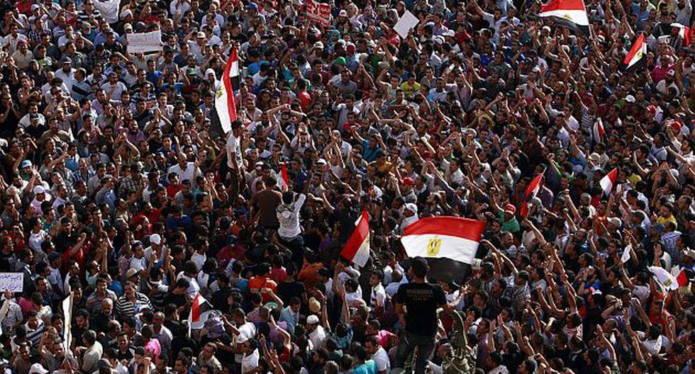 Otras localidades de Egipto también alzaron su voz de protesta.(AP)