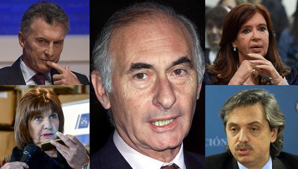 De la Rúa, que a lo largo de su carrera política fue diputado, senador y alcalde de Buenos Aires, se vio forzado a dimitir como presidente durante la peor crisis económica. (Foto: AFP)
