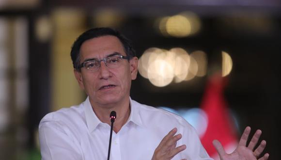 Vizcarra precisó que el Ejecutivo sigue trabajando en estrategias para aumentar número de camas, equipos y personal médico. (Foto: Presidencia Perú)