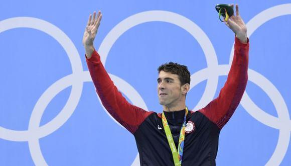Michael Phelps sumó cinco medallas de oro y una de plata en Río 2016. (AFP)