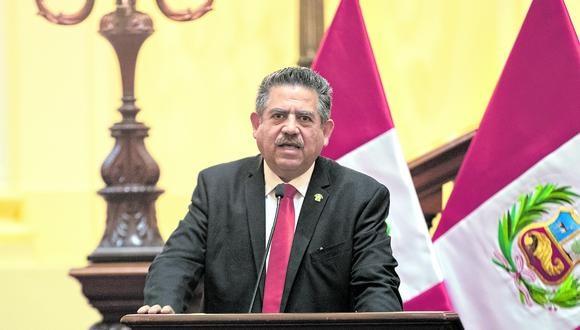 Manuel Merino de Lama renunció a la Presidencia de la República en noviembre del 2020. Ejerció el cargo por apenas 6 días. (Foto: Renzo Salazar / GEC)