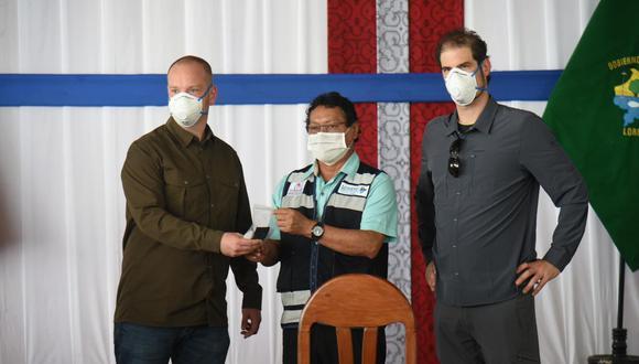 Loreto: Gobierno de Alemania donó 50 mil pruebas moleculares para detectar casos COVID-19