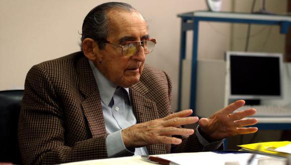 Fue presidente del Senado en 1981. (Flickr Mario Carvajal)