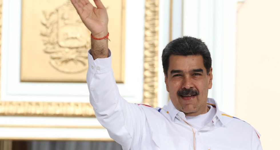 """Nicolás Maduro calificó a Juan Guaidó, en el mismo discurso sobre las negociaciones, como """"pelele"""", """"títere del imperialismo"""" y """"agente a sueldo"""" del Gobierno de Estados Unidos. (Foto: EFE)"""