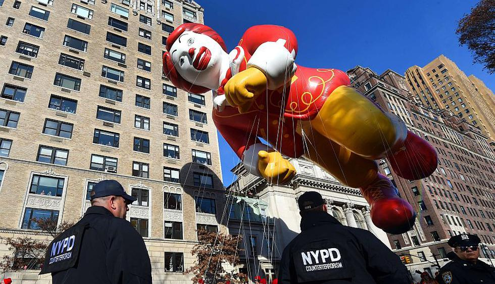 Día de Acción de Gracias: Nueva York extremó seguridad en tradicional desfile de Macy's. (AFP)