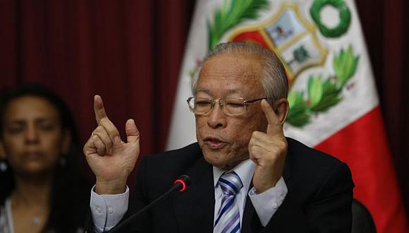 Humberto Lay  repite el plato en la Comisión de Ética. (USI)