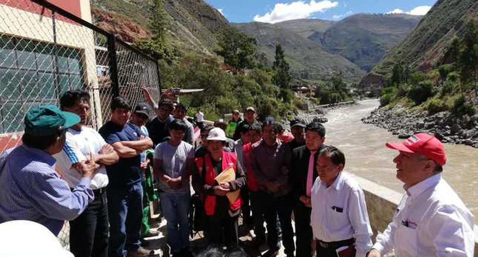 El MTPE inauguró dos obras en Huancavelica. (Foto: Difusión)