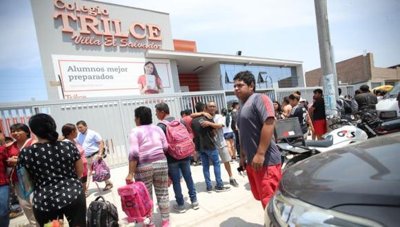 El último martes, un alumno del colegio Trilce de Villa El Salvador manipuló un arma de fuego y le causó la muerte a su compañero de clase. (GEC)