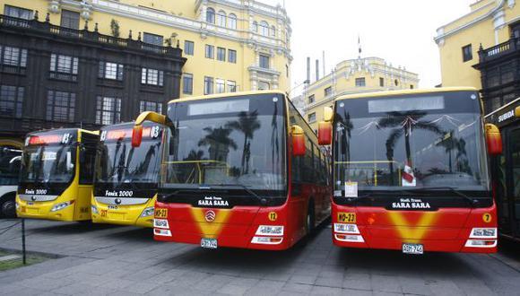 Nuevas flotas vehiculares. (USI)
