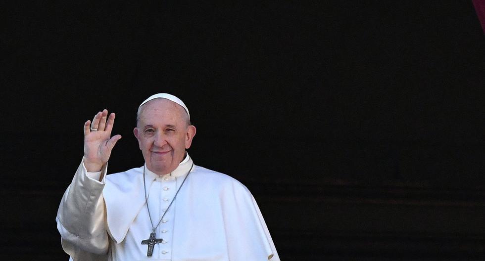 El papa Francisco envío un mensaje de paz en pleno conflicto entre Estados Unidos e Irán. (Foto: AFP)