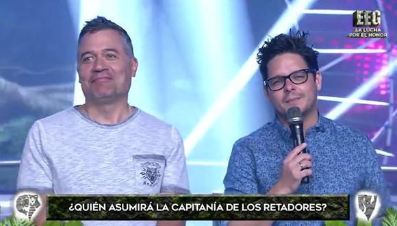 Gian Piero Díaz confundió al Tribunal del programa con un ex integrante de Combate. (Foto: Captura)