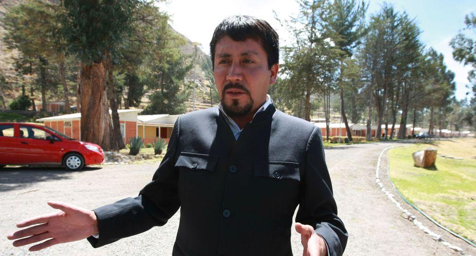 Elmer Cáceres Llica fue denunciado.