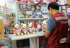 Indecopi intervino establecimientos que vendían mercadería no autorizada de los Juegos Panamericanos