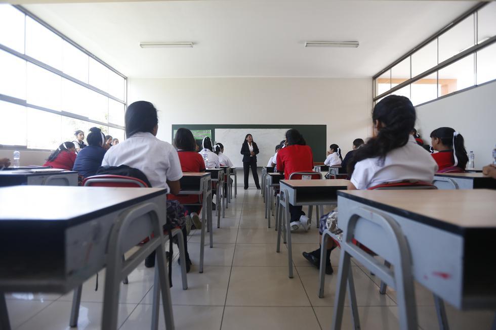 FOTO 1   El Indecopi indicó que los colegios particulares solo pueden cobrar por tres conceptos: matrícula, cuota de ingreso y pensión. (Foto: GEC)