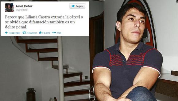 Ariel Bracamonte reaccionó tras declaraciones de Liliana Castro. (USI)