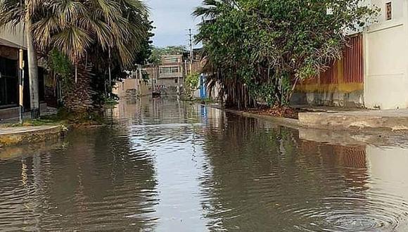 Según el reporte del Centro de Operaciones de Emergencia Regional, en la ciudad de Piura se acumuló lluvias mayores a 10 litros por metro cuadrado.