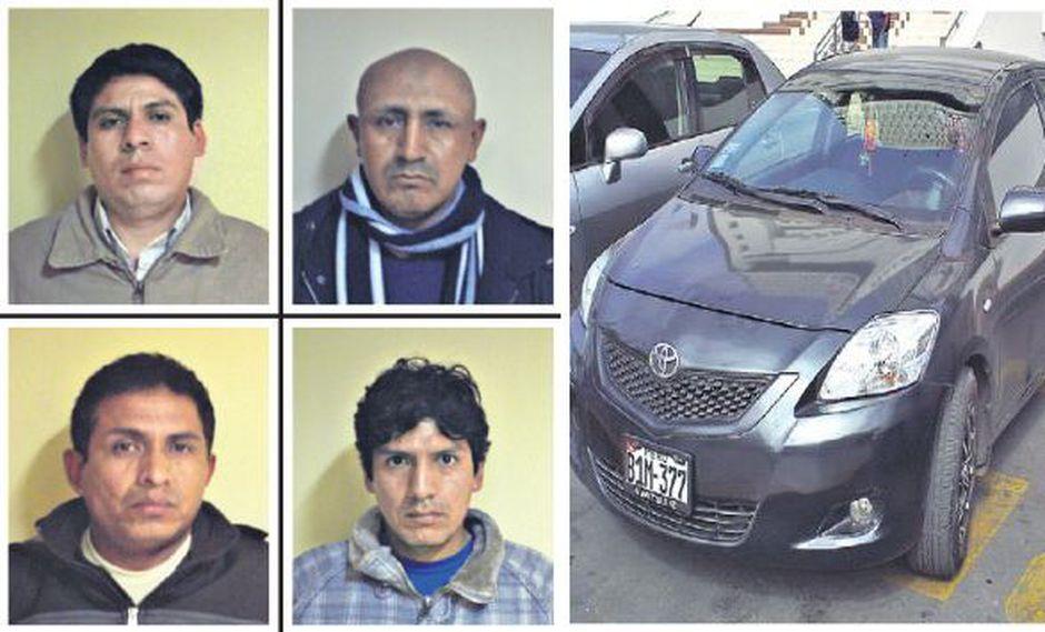 Johan, Juan y Joel Rojas Contreras fueron detenidos junto con Ermitanio Ugaz Huamán cuando iban a asaltar a un pasajero. (USI)