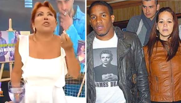 Magaly Medina salió en defensa de Melissa Klug en juicio con Jefferson Farfán. (Composición)