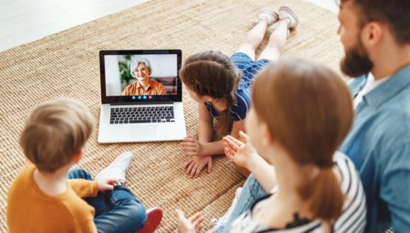 Las reuniones familiares virtuales son la mejor opción durante la pandemia. (Foto archivo referencial GEC)