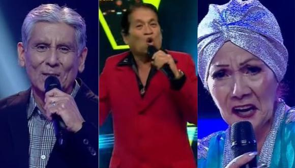 """""""La Voz Senior"""" dio inicio a sus batallas por la permanencia en el programa. (Foto: Captura de video)"""