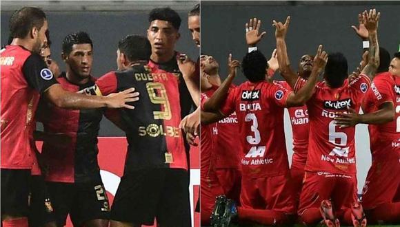 Melgar y Sport Huancayo ya conocen los horarios y fechas de sus partidos en la Copa Sudamericana. (Foto: Twitter)