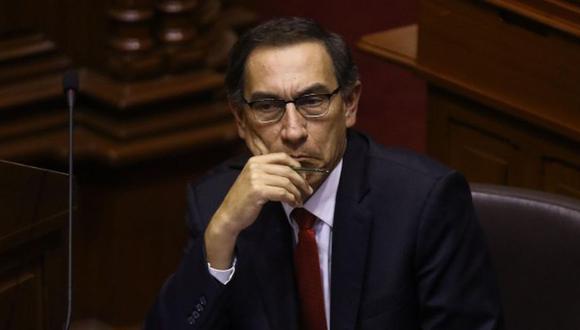"""Martín Vizcarra dijo estar """"totalmente seguro"""" que el Gobierno de Manuel Merino fue producto de un """"golpe institucional"""" en su contra. (Foto: GEC)"""