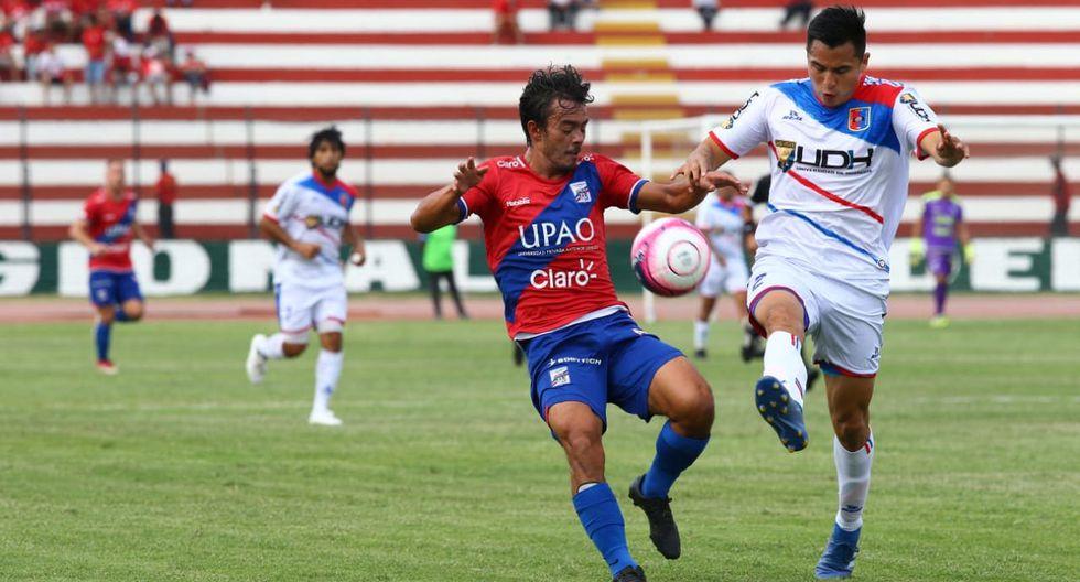 Mannucci y Alianza Universidad empataron 2-2 por el cuadrangular del ascenso. (Foto Jesús Saucedo)