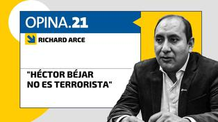 "Richard Arce: ""Héctor Béjar no es terrorista"""