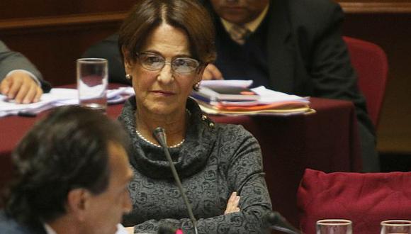 Susana Villarán será citada al Congreso. (Martín Pauca)