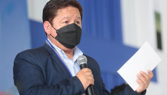 El presidente del Consejo de Ministros, Guido Bellido, participó este jueves 23 del GORE Iquitos. (Foto: Twitter PCM)