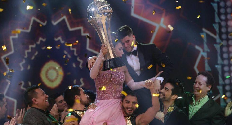 Diana Sánchez campeonó en la gran final de 'El Gran Show'. (Anthony Niño de Guzmán)