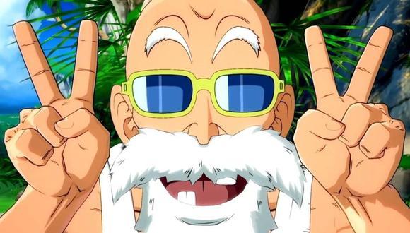 El Maestro Roshi llegará a Dragon Ball FighterZ en setiembre próximo. (Captura de pantalla)