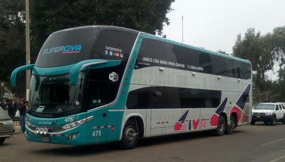 CIVA brinda el servicio de transporte interprovincial en el país. (Foto: Archivo/GEC)