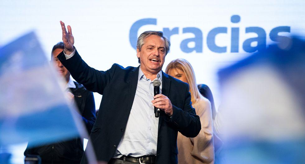 1. Elecciones primarias: Alberto Fernández, ganador de las elecciones primarias, se ha mostrado en contra de las reformas estructurales acordadas con el FMI, promovidas por el presidenteMauricio Macri. (Foto: AFP)