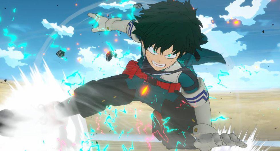 'My Hero One's Justice 2' llega con un total de 40 personajes para seleccionar entre héroes y villanos.