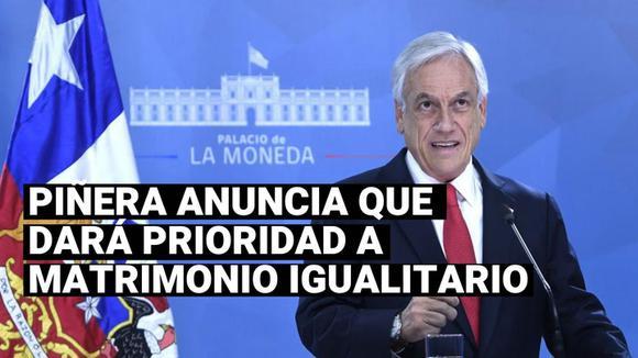 Chile: Sebastián Piñera dará urgencia a ley de matrimonio igualitario