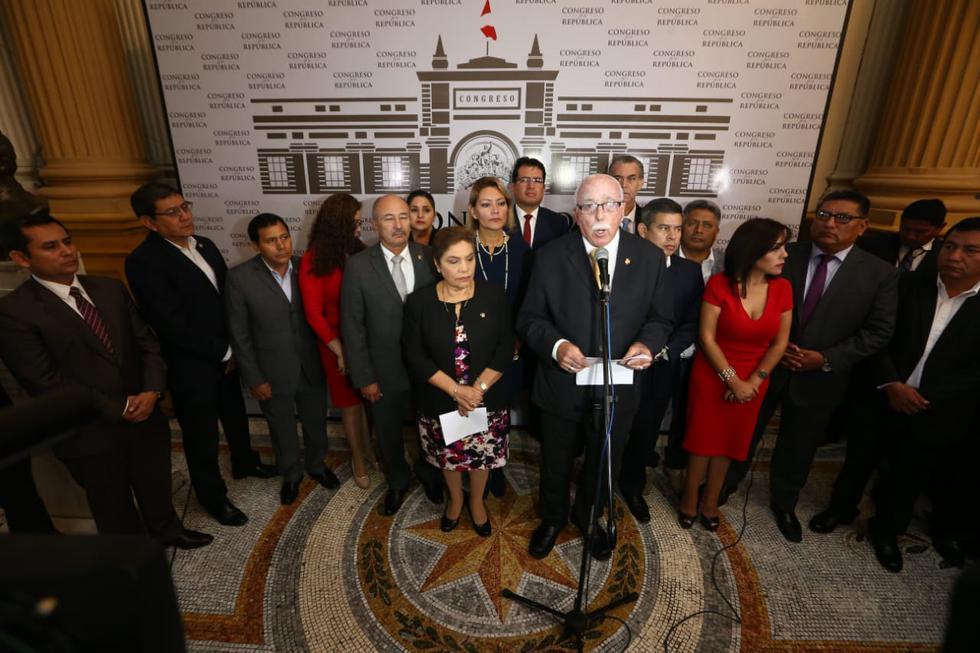 Legisladores de Fuerza Popular alista moción de interpelación a la titular de Educación. (Foto: GEC/Alessandro Currarino)