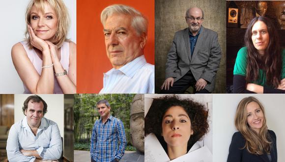Entre los invitados están Helen Fielding, escritora de El diario de Birdget Jones; el Premio Nobel de Literatura, Mario Vargas Llosa y el escritor indo-británico Salman Rushdie. (Difusión)