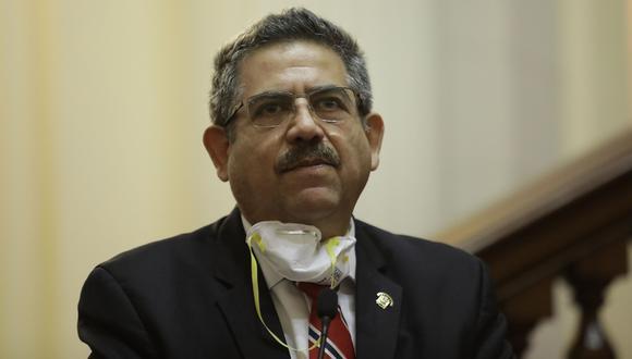 Manuel Merino dijo que confía en el trabajo de la Subcomisión de Acusaciones Constitucionale. (Foto: Anthony Niño de Guzman \ GEC)