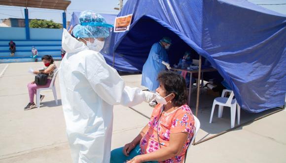 Lambayeque: campaña médica atendió a 190 personas en distintas especialidades y descarte de COVID-19 (Foto: Gore Lambayeque)