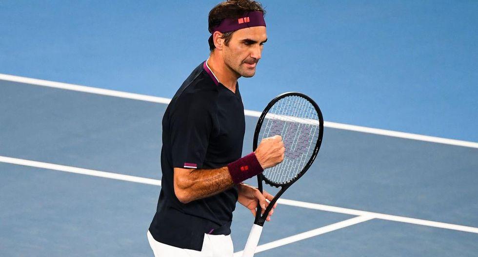 Federer vs. Fucsovics se enfrentan en la cuarta ronda del Australian Open. (Foto: AFP)