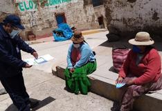 Elecciones 2021: ODPE Puno facilitará el voto a más de 10 mil electores en estado de pobreza