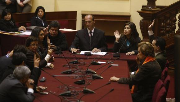 Martha Chávez arremetió contra sus críticos en la Comisión de Justicia. (Perú21)