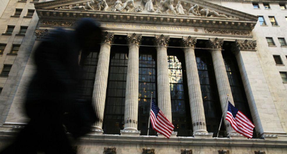 El New York Stock Exchange (NYSE) en Wall Street. (Foto: AFP)