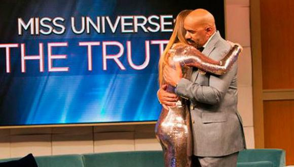 Steve Harvey se reencontró con Ariadna Gutierrez